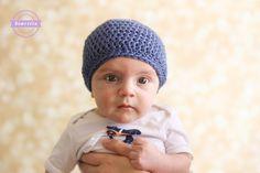 Crochet Slouchy Baby Beanie