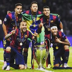 Brazil Barcelona champions league