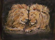 Different Media, Beginner Painting, Lion, Artist, Animals, Leo, Animales, Animaux, Artists