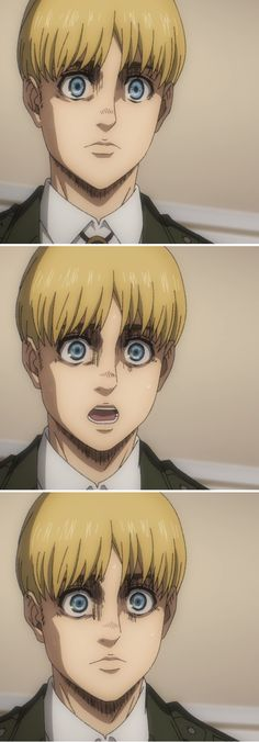 Aot/S4 Titans Anime, Attack On Titan Anime, Armin, Fictional Characters, Fantasy Characters