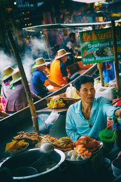 Canalside Delicacies, Bangkok, Thailand