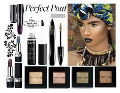 """Senza titolo #6321"" by waikiki24 on Polyvore featuring bellezza, Bobbi Brown Cosmetics, Lancôme, NYX e Christian Dior"