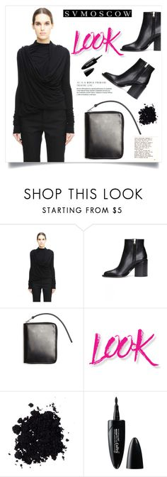 """""""SVMOSCOW"""" by amra-mak ❤ liked on Polyvore featuring Rick Owens Lilies, Marni, NYX, Maybelline and svmoscow"""