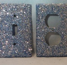 glitter light switch plate a MUST HAVE in my new room Do It Yourself Design, Do It Yourself Home, Cute Crafts, Diy And Crafts, Arts And Crafts, Home Projects, Craft Projects, Projects To Try, Glitter Projects