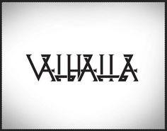 Valhalla. Loschy Designs Norse Inspiration