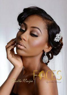Faces by Labisi Makeup - BellaNaija Weddings - Black Bride Inspiration:Nigerian Wedding - 03