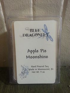 Hand Poured Apple Pie Moonshine Soy Melt