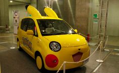 Des voitures Pokémon pour une campagne publicitaire ! #pokemon #manga