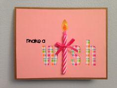 Birthday card for girls