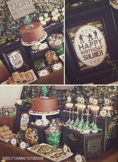 Camo Birthday Party Food Ideas