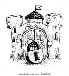 Gallery For > Medieval Castles Drawings And Illustrations