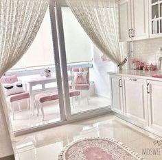Home Decor Kitchen, Kitchen Furniture, Kitchen Design, Luxury Kitchens, Home Kitchens, Colourful Living Room, Home Upgrades, Dream Rooms, Home Interior Design