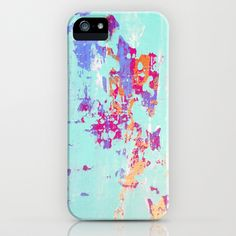 Abstract 33 iPhone & iPod Case by Jennifer Flannigan -