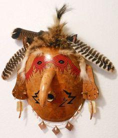 cherokee booger masks | cherokee booger dance and masks ...