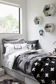 Veja hoje no blog 20 inspirações de decoração de quarto para meninas que fogem do rosa