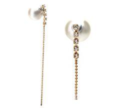 Everyday Junes Tribal Perlen Ohrringe U0027 Peekaboo Effektu0027. Die Perle Hinter  Dem Ohr