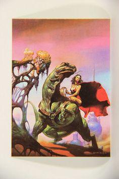 L010236 Boris Vallejo 1991 Card / Space Guardian - 1978 - Card #39 / ARTWORK