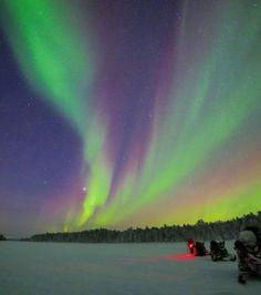 #Snowmobile #Snowmobiling #Winter #Snow #Arctic #Lapland #NorthernLights #bucketlist #Finland