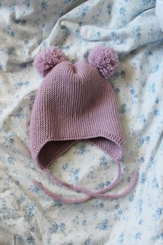 Lempipäiväni -tänään.: Köyhän miehen Gugguu-pipo Knitting For Kids, Baby Knitting Patterns, Crochet Baby, Knit Crochet, Drops Baby, Knit Wrap, Couture Sewing, Crochet Slippers, Kids Hats