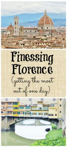 If you only have one day in Florence, there is a way to see a LOT of it.  Discover how to cut lines and fast-pass your way through Florence!