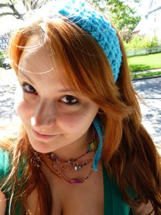 Tieback Crochet Headband by BombshellsExploits on Etsy, $10.00