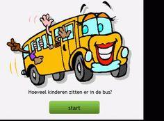 *▶ Rekenen: Hoeveel kinderen zitten er in de bus?
