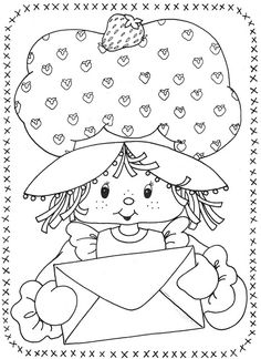 USED COLORING BOOK~Strawberry Shortcake and Her Friends - Bonnie Jones - Álbuns da web do Picasa