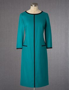 I've spotted this @BodenClothing Tipped Wool Shift Emerald