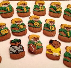 Baylor gingerbread bears! #SicEm