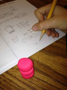 Geometry - Teaching volume of 3D shapes with Play-doh!