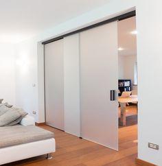 Schuifrail Slide Tec Optima 150 plafondmontage met vaste wand