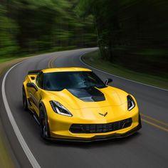 """Corvette (@corvette) on Instagram: """"You hold the wheel. We'll hold the road. #Corvette #Z06 #Vette"""""""