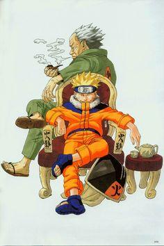 Naruto Uzumaki ArtBook 1 - 098