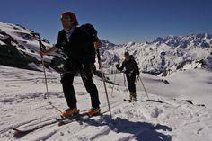 France - Ski de randonnée autour du Mont Blanc