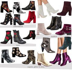 statement boots shopping list