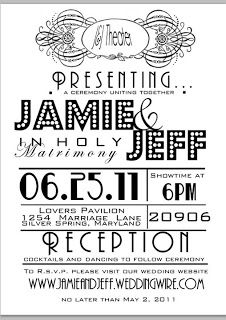Perhaps Theater Themed Invitations?