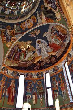 Catholic Art, Religious Art, Church Icon, Byzantine Architecture, Church Pictures, Fresco, Church Interior, Byzantine Icons, Orthodox Icons