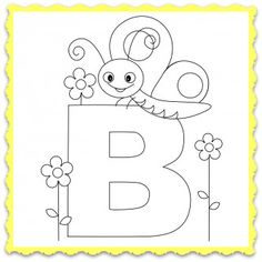 Animal-Alphabet-Letter-B-is-for-Bee.png 334×334 pixels