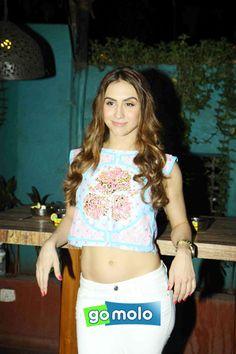 Lauren Gottlieb at the Promotion of Hindi movie 'Welcome To Karachi' in Mumbai