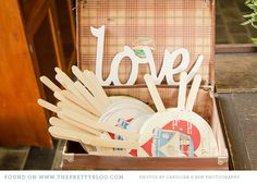 Photobooth props - another way to use the vintage suitcases