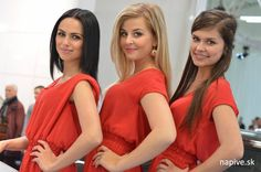 Car Expo, Bratislava, Car Show, Formal Dresses, Red, Fashion, Dresses For Formal, Moda, Formal Gowns
