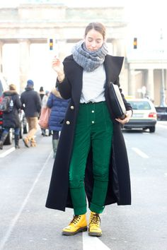 Berlin Fashion Week 2014 Street Style Trends | Wadenlange Mäntel