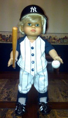 Another Baseball American Boy Doll Clothes