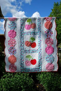 I would love to have a cherry quilt