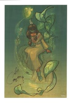 """Princess of Never Land by Cathy Clark  from the Disney movie, 'Peter Pan"""""""