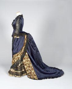 Ephemeral Elegance   Reception Dress, ca. 1885-90 House of Worth via...