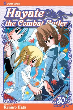Hayate 30 • Hayate the Combat Butler by Kenjiro Hata (Hayate no Gotoku) Manga Covers Viz English Version Manga Covers, Butler, English, Anime, Fictional Characters, Art, Art Background, Kunst, Cartoon Movies