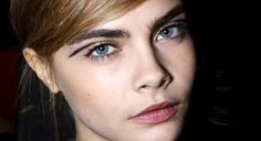 Cara Delvigne eye make up