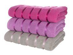 Towels, £12.99 each.