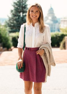 ✨ Southern Charm, Preppy ✨ Sugarplum Dance – Kiel James Patrick Ease Bug Bites with Easy Herbs Summe Adrette Outfits, Casual Work Outfits, Girly Outfits, Stylish Outfits, Spring Outfits, Fashion Outfits, Preppy Girl Outfits, Fashion Styles, Preppy Fashion